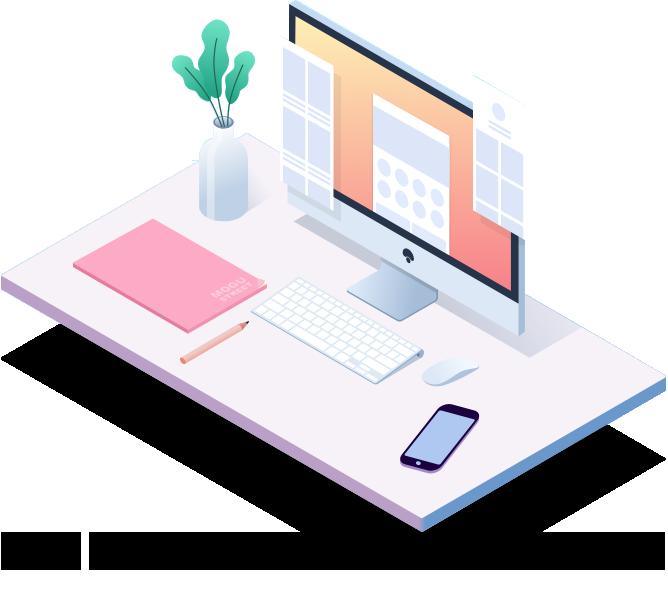 一般来说,如果不是创意设计相关的行业,网站在视觉体验上不用刻意